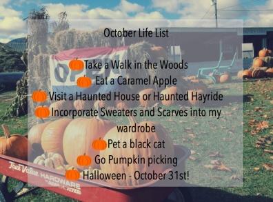 October Life List